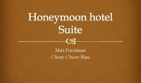 Honeymoon Suite Project