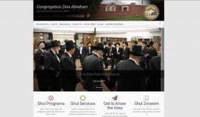 Zera Abraham by Gitty Sternman, WordPress Site