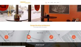 Design Develop Architecture by Penina Braun, WordPress Site