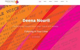 Deena Nouril Vocie-Over actress by Shifra Goldman, wordpress site
