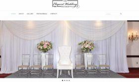 the elegant wedding package