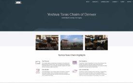 Yeshivas Torah Chaim of Denver by Odeya Kastor, wordpress site